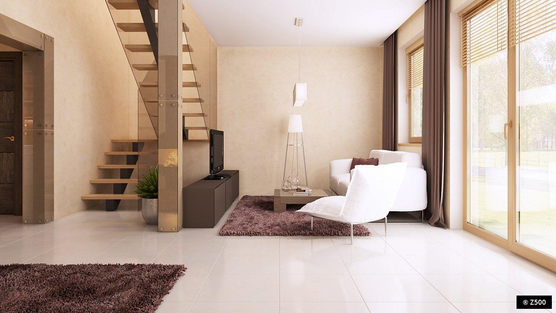 Дизайн дома с мансардой
