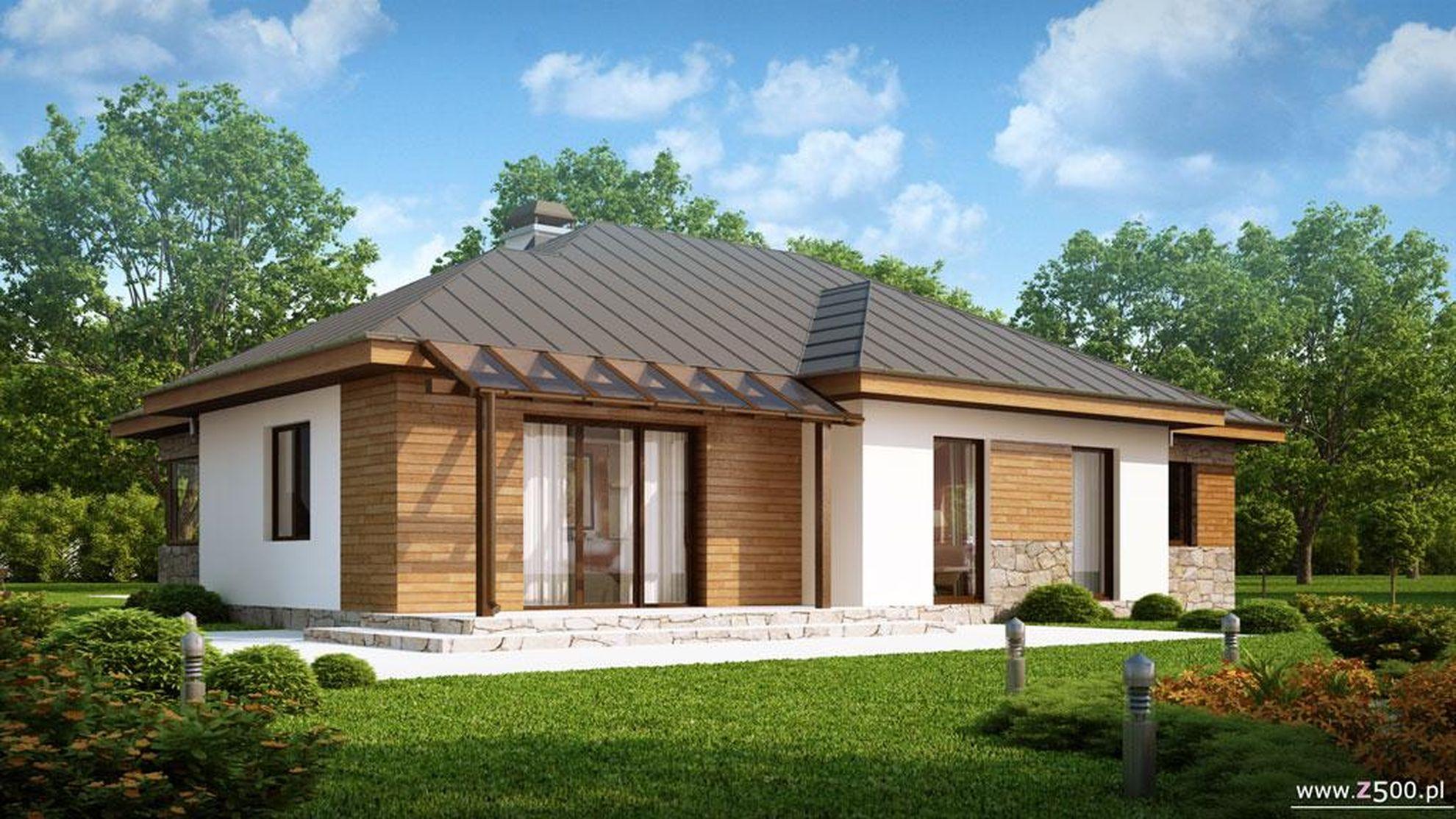 Дизайн одноэтажных домов и коттеджей