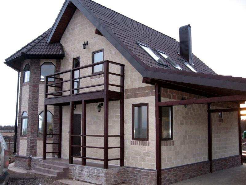Отделка дома блок хаусом цена стоимость монтажа блок